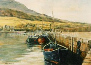 Boats at carlingford Lough